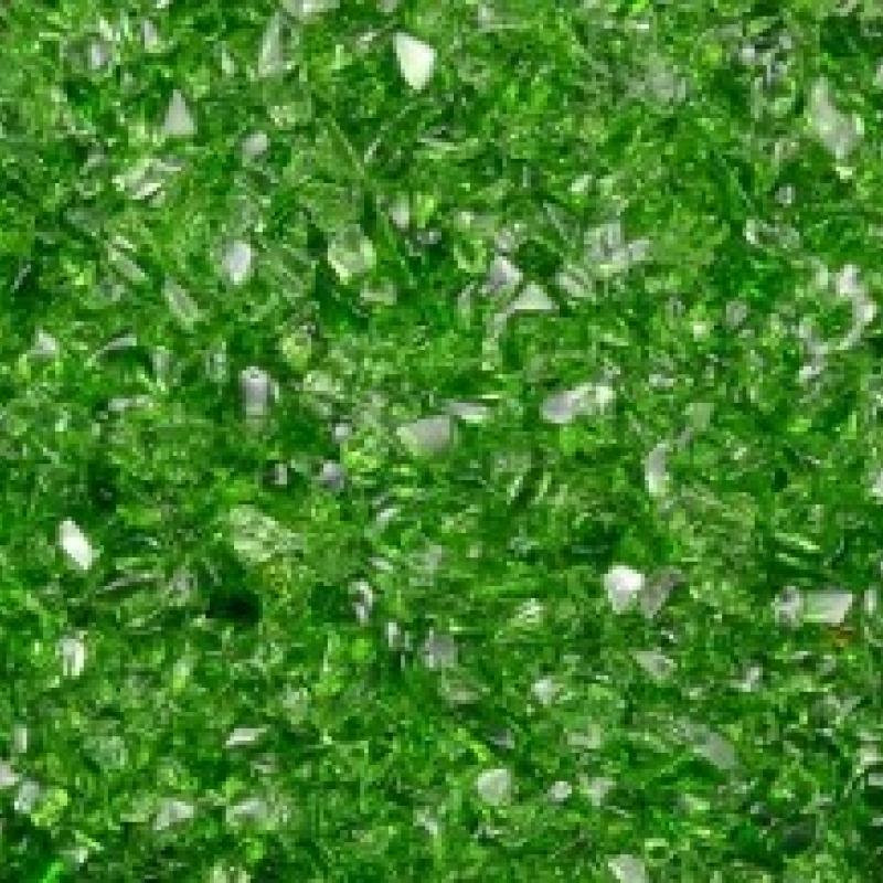 Улексит зеленый галтовка (мелкая фракция, 3-5 мм)  искусственно выращ. 100 гр/упак