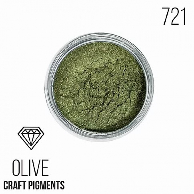 "Пигмент CraftPigments, з, Оливковый ""Olive"", 25 мл."