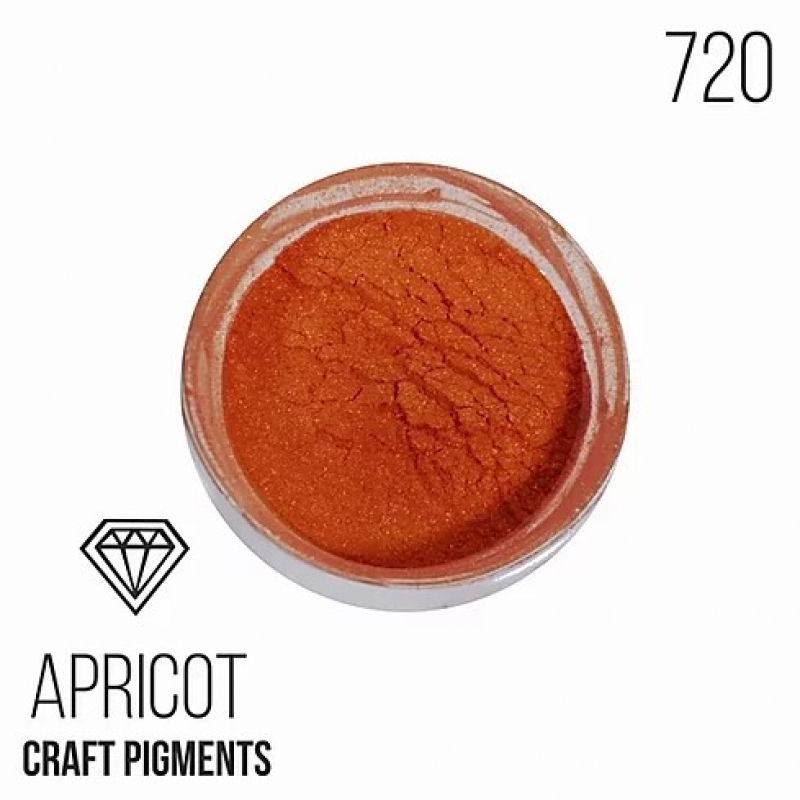 """Пигмент CraftPigments, к, Абрикосовый """"Apricot"""", 25 мл."""