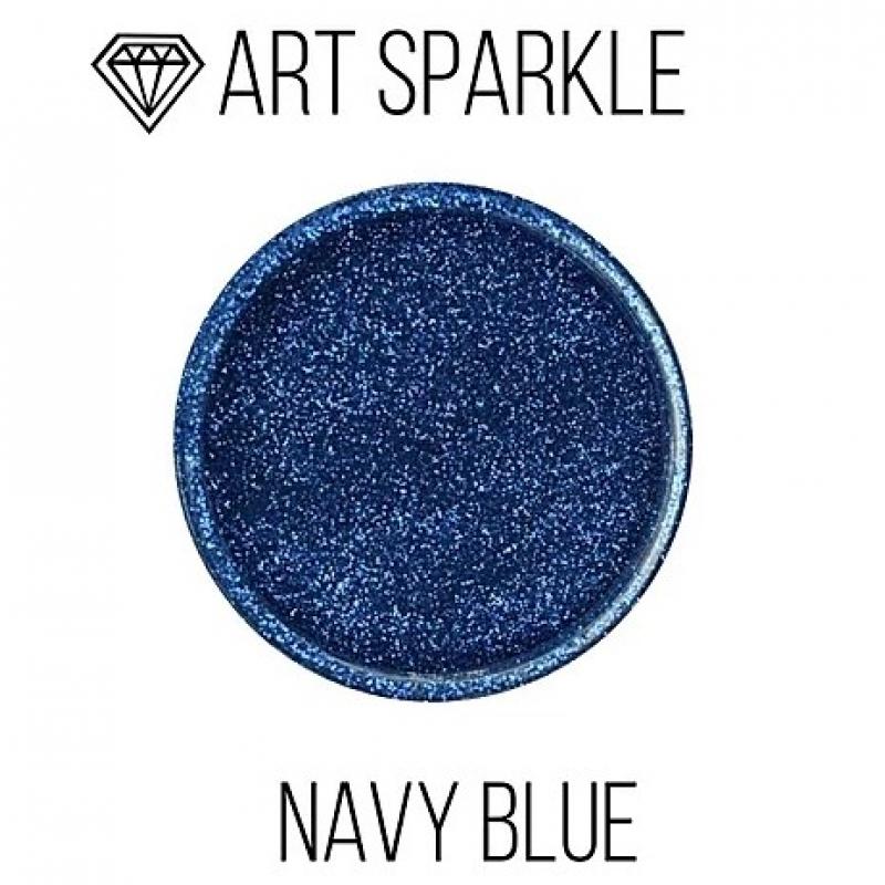 Глиттер мелкий с, Navy Blue, 50 гр
