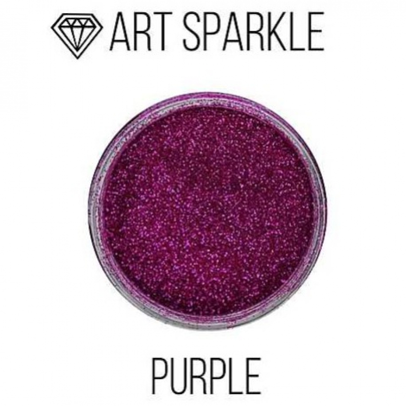 Глиттер мелкий ф, Purple, 50 гр