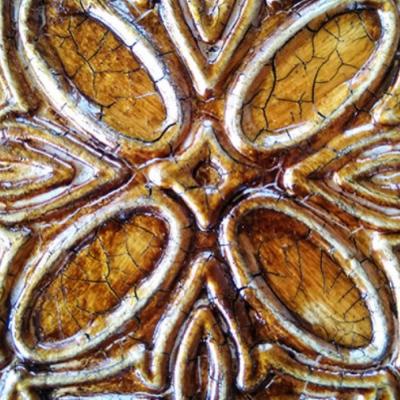 Патина с эффектом микротрещин Fractal paint «Красное золото», 50 мл.
