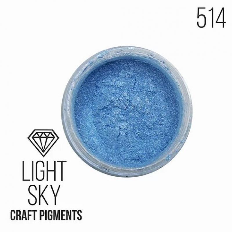 """Пигмент CraftPigments, с, Небесный """"Light Sky"""" 10, 25 мл. (Для заказа нужно выбрать объем баночки)"""