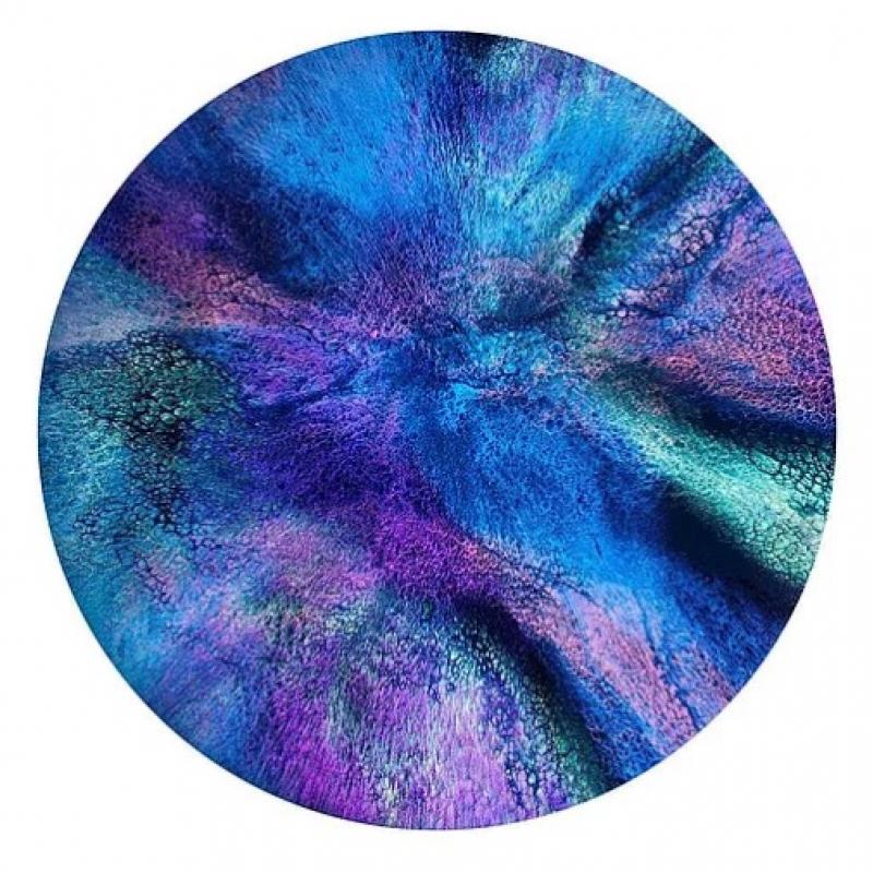 """Пигмент CraftPigments Pearl """" Blue """", перламутровый синий,   25 мл."""