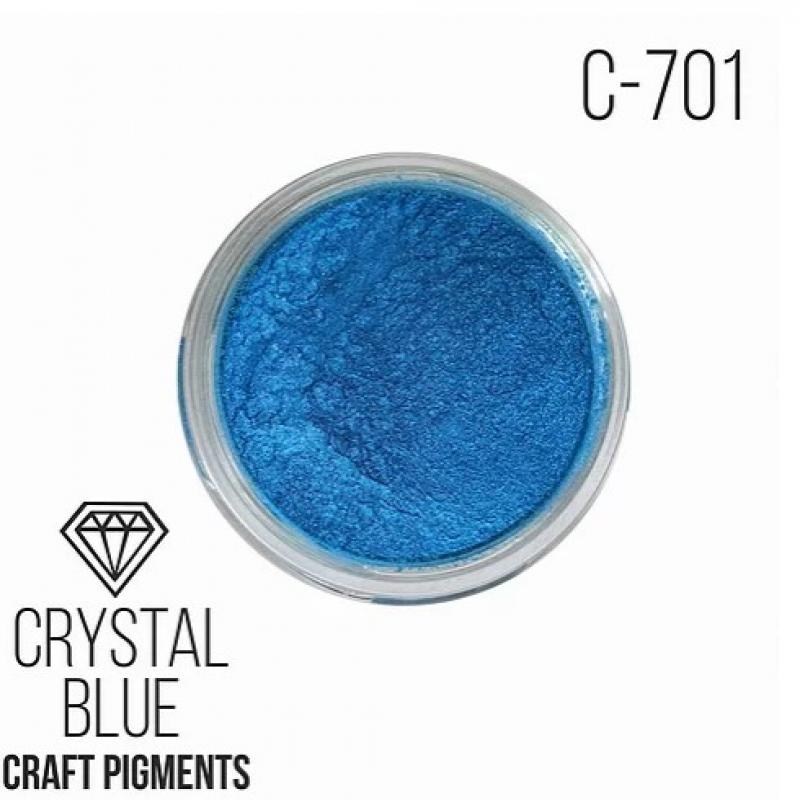 """Пигмент CraftPigments Кристаллический синий """"Crystal blue"""", 25 мл."""