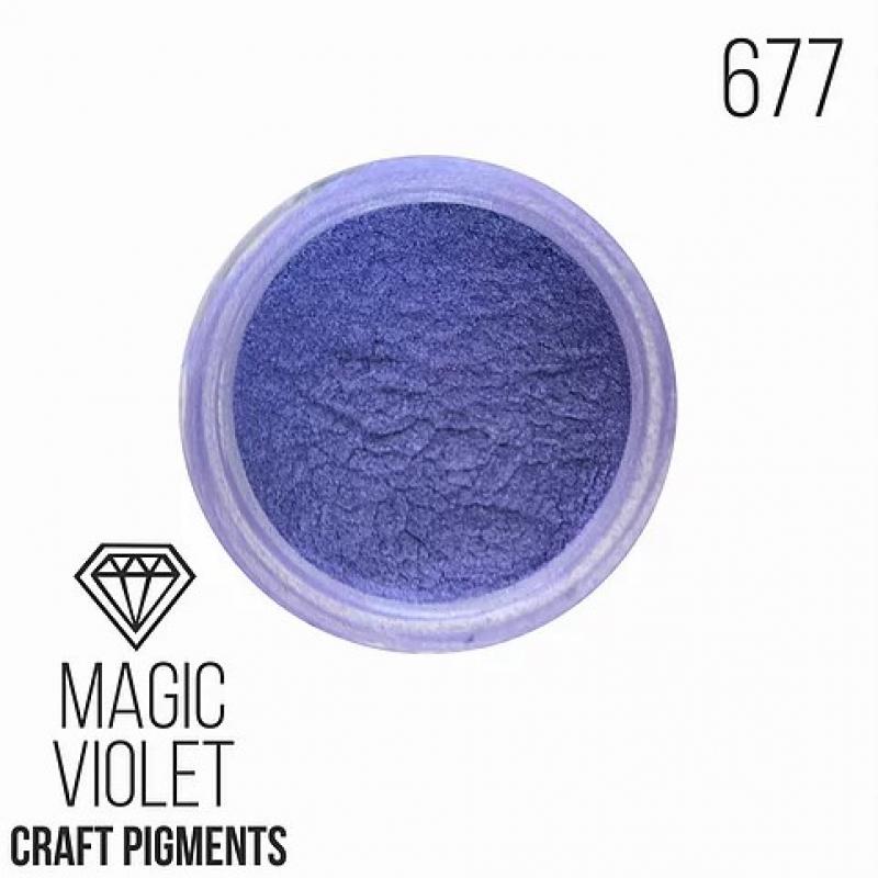 """Пигмент CraftPigments, ф, Сине-фиолетовый """"Magic Violet"""" 25 мл."""