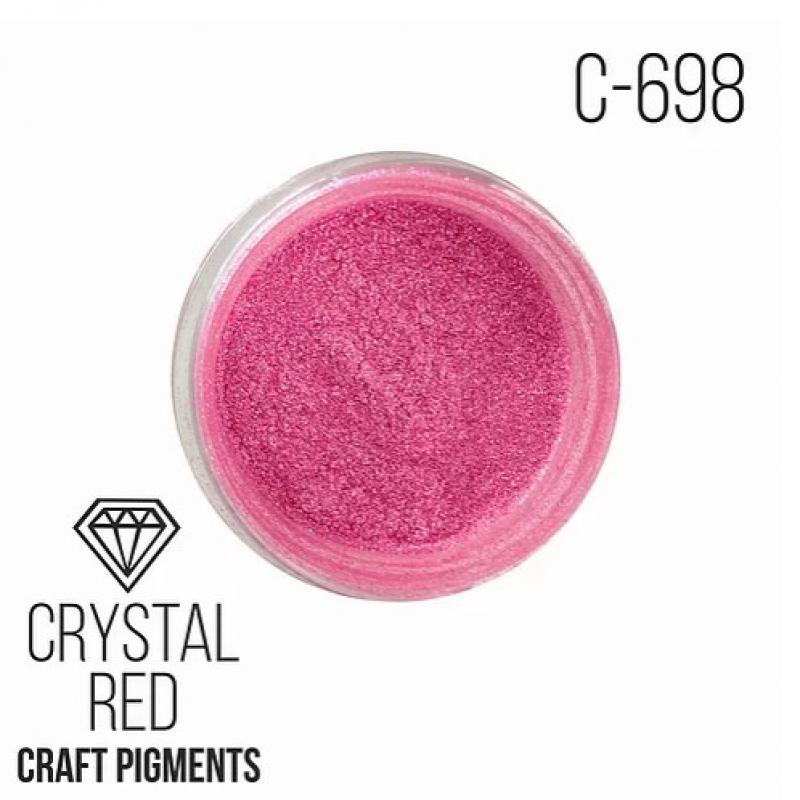 """Пигмент CraftPigments Кристаллический красный """"Crystal Red"""", 25 мл."""