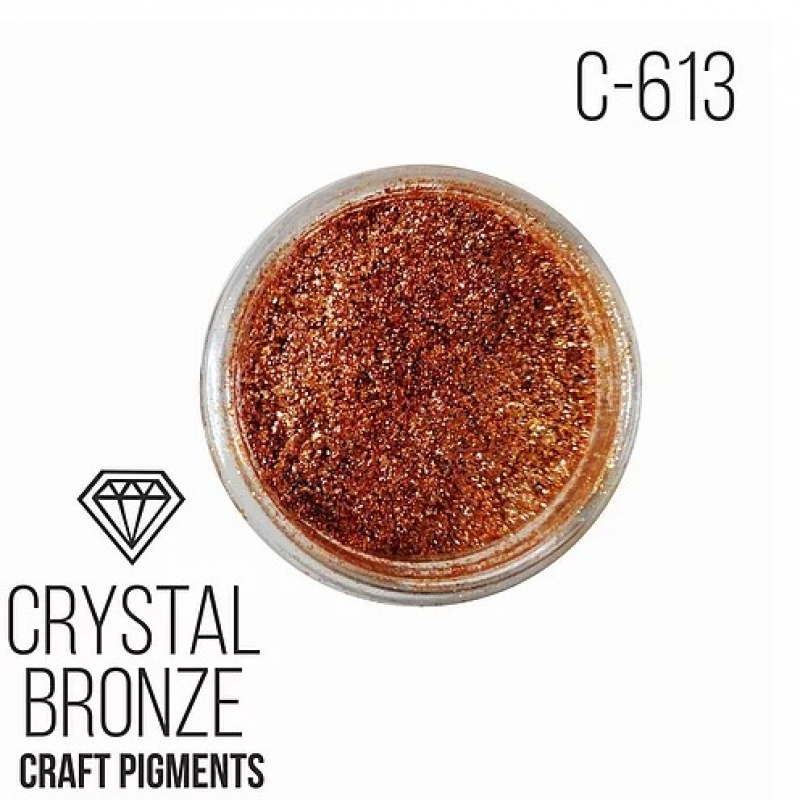 """Пигмент CraftPigments Кристальная бронза """"Crystal Bronze"""", 25 мл."""