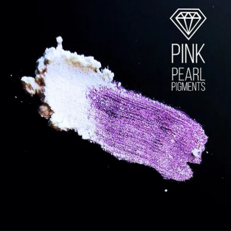 "Пигмент CraftPigments Pearl ""Pink"", розовый, 25 мл."