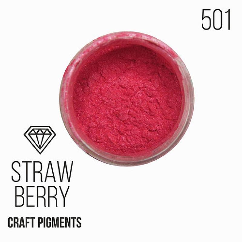 "Пигмент CraftPigments, к, Клубника ""Strawberry"", 25 мл."