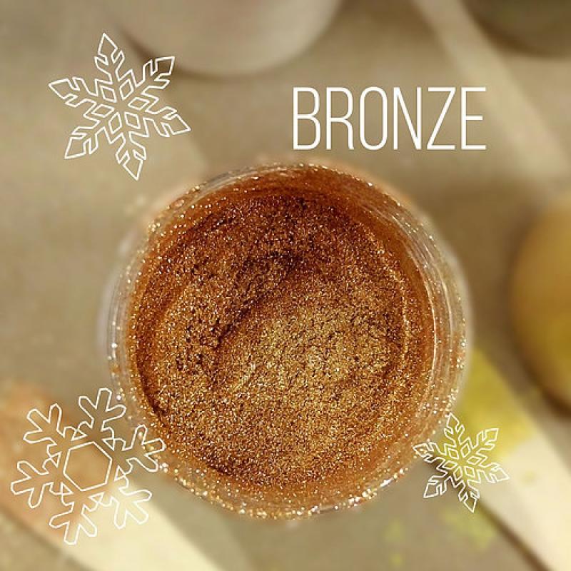 """Пигмент CraftPigments, б, Бронза """"Bronze"""", 25 мл."""