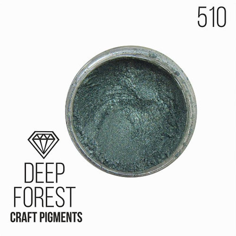 """Пигмент CraftPigments, з, Темный лес """"Deep Forest"""" 25, 50 мл. (Для заказа нужно выбрать объем баночки)"""