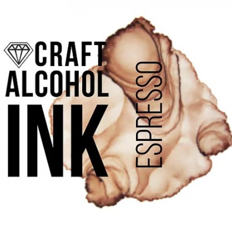 Алкогольные чернила Craft Alcohol INK, и, Espresso (Эспрессо), 20 мл