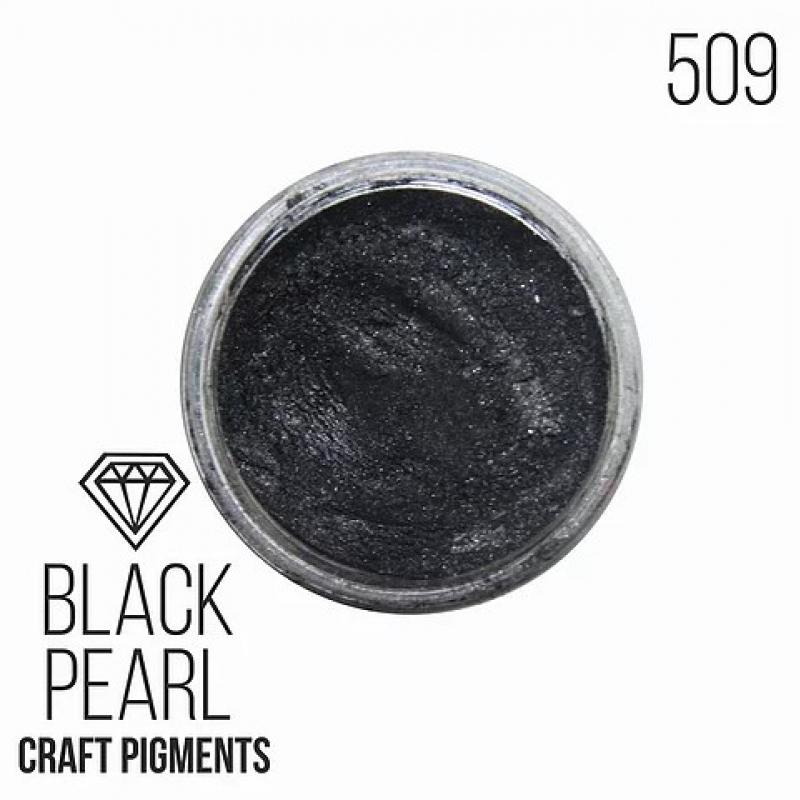 """Пигмент CraftPigments, а, Черный жемчуг """"Black Pearl"""" 10, 25 мл. (Для заказа нужно выбрать объем баночки)"""