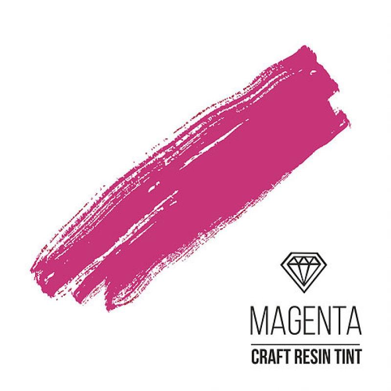 Краситель для смолы и полимеров CraftResinTint, к, маджента, Magenta, 10 мл.
