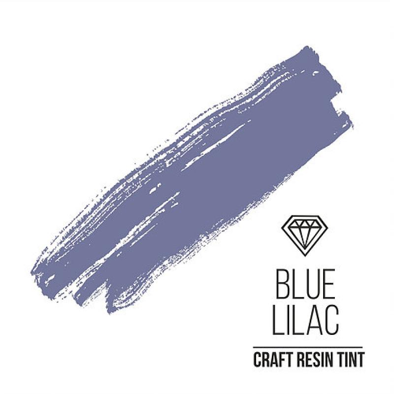 Краситель для смолы и полимеров CraftResinTint, ф, Лилово-голубой, 10 мл.