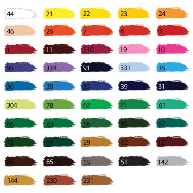 Краска акриловая художественная BRAUBERG, туба 75 мл, с, фиолетовая средняя 191088