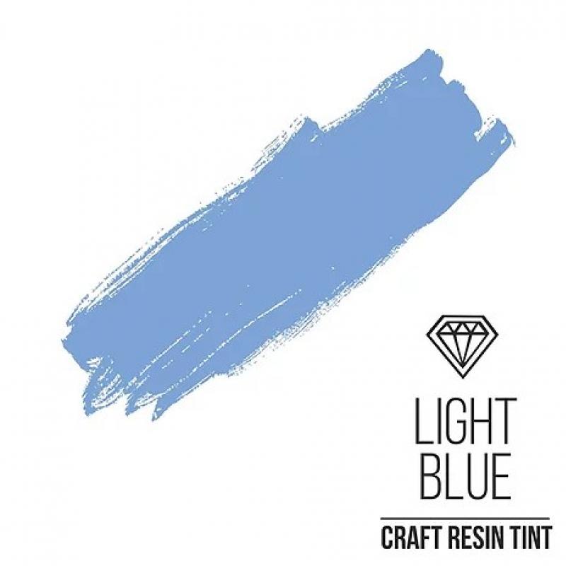 Краситель для смолы и полимеров CraftResinTint, с, Светло-голубой, 10 мл.