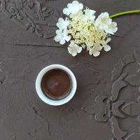 Меловая краска Fractal paint «Темный шоколад» 50 мл.