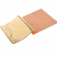 Поталь Золото, 14х14 см, книжка 25 листов, Сонет