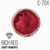 """Пигмент CraftPigments Роскошный красный """"Rich Red"""", 25 мл."""