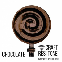 Прозрачный тонер для эпоксидной смолы ResiTone, Шоколадный, 10 мл