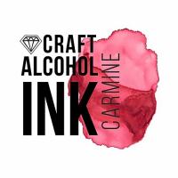 Алкогольные чернила Craft Alcohol INK, Кармин, Carmine, 20 мл