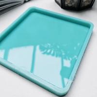 Молд силиконовый для подстаканников (костеров), квадрат 10*10 см., модель №10