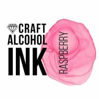 Алкогольные чернила Craft Alcohol INK, к, Raspberry, Малина, 20 мл.