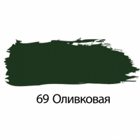 Краска акриловая художественная BRAUBERG, туба 75 мл, з, оливковая 191106