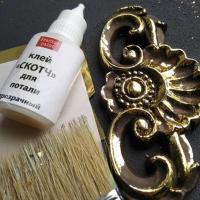 Клей-скотч для потали Fractal paint «Прозрачный», с тонким носиком 25 мл.