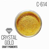"""Пигмент CraftPigments Кристальное золото """"Crystal Gold"""", 25 мл."""