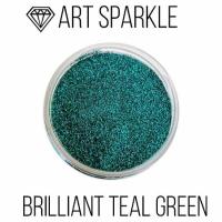 Глиттер мелкий д, Brilliant Teal Green, 50 гр