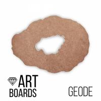 "ART Board (борд) ""Geode"" №1, жеода 50*35 см. МДФ"