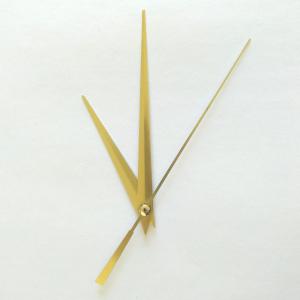 Стрелки для часов, золото (час. 80 мм, минут. 120 мм) 617 LZ (при заказе нужно выбрать цвет секундной стрелки)