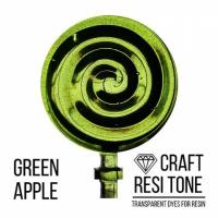 Прозрачный тонер для эпоксидной смолы, Зеленое яблоко, 10 мл.