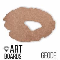 "ART Board (борд) ""Geode"" №2, жеода 50*35 см. МДФ"