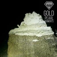 "Пигмент CraftPigments Pearl ""Gold"", золотой, 25 мл."