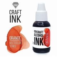 Алкогольные чернила Craft Alcohol INK, и, Orange (апельсин)), 20 мл