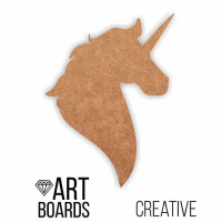 "ART Board (борд) ""Unicorn"" Единорог, 40х30см, МДФ"