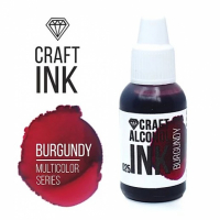 Алкогольные чернила Craft Alcohol INK, к, Burgundy, Бургунди, 20 мл