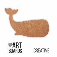 "ART Board (борд) ""Кит"", 50х35 см. МДФ"