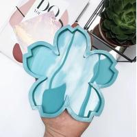 """Молд силиконовый для подстаканников """"Цветок"""", диаметр 13 см. модель №39"""
