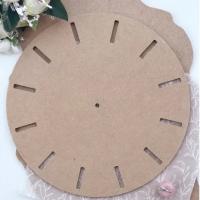 """Заготовка """"Часы"""" №5, МДФ 6 мм, диаметр 30 см."""