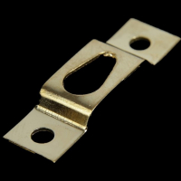 Подвес №5 металл. для картин, средний, золото 3,9 х1,1 см, 10 шт./упак