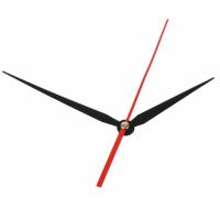 Стрелки для часов, черные (час. 86 мм, минут 113 мм, сек.164 мм)