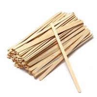 Лопатка деревянная узкая, 14 см., 100 шт./упак