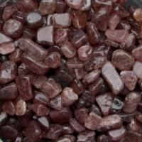 Авантюрин малиновый галтовка (средняя фракция, 10-15 мм), натур. 100 гр/упак