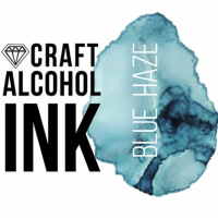 Алкогольные чернила Craft Alcohol INK, с, Blue Haze, Голубая дымка, 20 мл