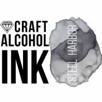 Алкогольные чернила Craft Alcohol INK, ч, SteelHarbor, Стальной, 20 мл